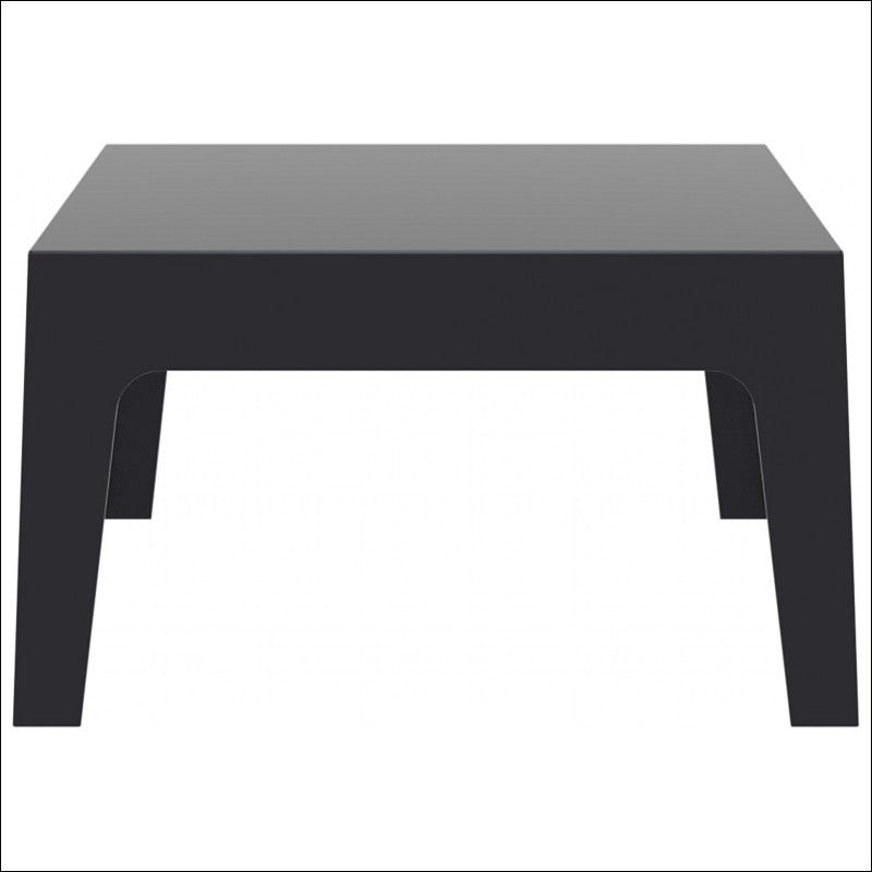 Compamia Box Resin Outdoor Center Table Black ISP064-BLA - YourBarStoolStore + Chairs, Tables and Outdoor  - 1