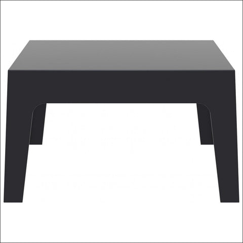 Compamia Box Resin Outdoor Center Table Black ISP064-BLA - RestaurantFurniturePlus + Chairs, Tables and Outdoor - 1