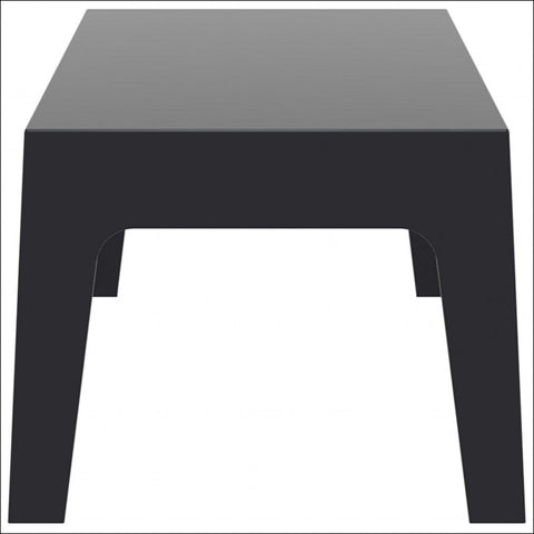 Compamia Box Resin Outdoor Center Table Black ISP064-BLA - YourBarStoolStore + Chairs, Tables and Outdoor  - 3