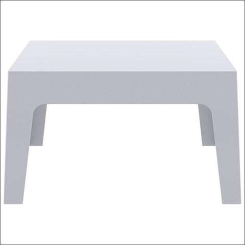 Compamia Box Resin Outdoor Center Table Silver Gray ISP064-SIL - RestaurantFurniturePlus + Chairs, Tables and Outdoor - 1