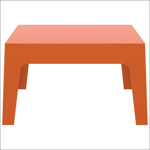 Compamia Box Resin Outdoor Center Table Orange ISP064-ORA - RestaurantFurniturePlus + Chairs, Tables and Outdoor - 1