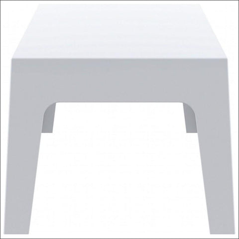 Compamia Box Resin Outdoor Center Table White ISP064-WHI - RestaurantFurniturePlus + Chairs, Tables and Outdoor - 2