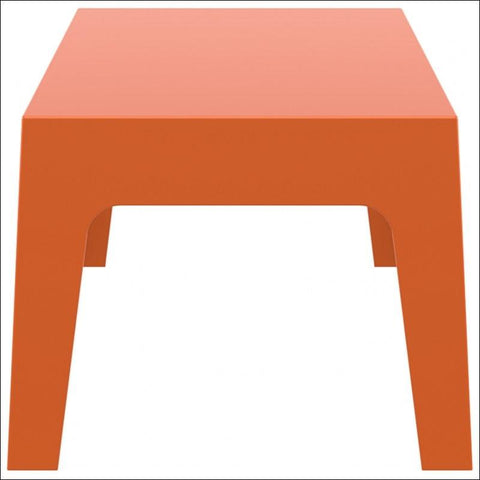 Compamia Box Resin Outdoor Center Table Orange ISP064-ORA - RestaurantFurniturePlus + Chairs, Tables and Outdoor - 3