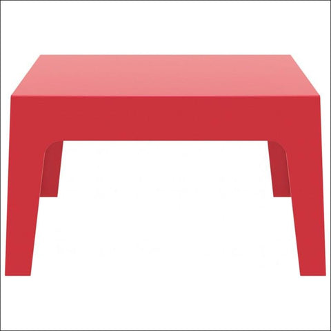 Compamia Box Resin Outdoor Center Table Red ISP064-RED - RestaurantFurniturePlus + Chairs, Tables and Outdoor - 3
