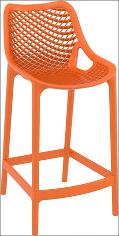 Compamia Air Counter Stool Orange ISP067-ORA - RestaurantFurniturePlus + Chairs, Tables and Outdoor - 1