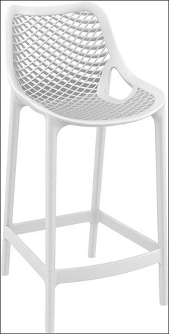 Compamia Air Counter Stool White ISP067-WHI - RestaurantFurniturePlus + Chairs, Tables and Outdoor - 1