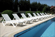 Compamia Aqua Pool Chaise Lounge White ISP076-WHI - RestaurantFurniturePlus + Chairs, Tables and Outdoor  - 17