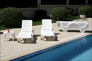 Compamia Aqua Pool Chaise Lounge White ISP076-WHI - RestaurantFurniturePlus + Chairs, Tables and Outdoor  - 5