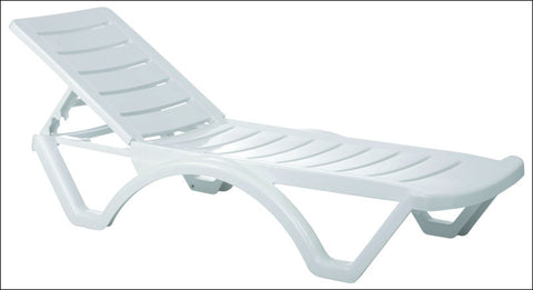 Compamia Aqua Pool Chaise Lounge White ISP076-WHI - RestaurantFurniturePlus + Chairs, Tables and Outdoor  - 10