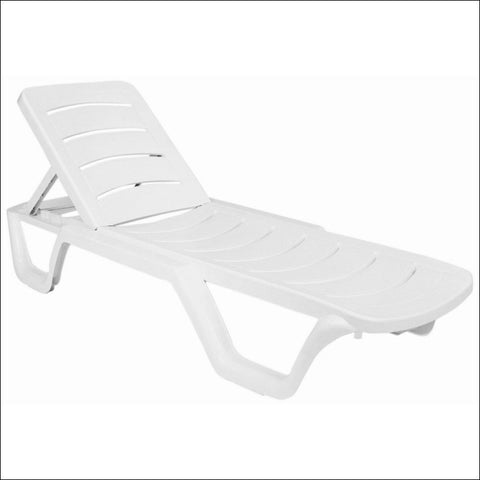 Compamia Sunlight Pool Chaise Lounge White ISP077-WHI - RestaurantFurniturePlus + Chairs, Tables and Outdoor  - 1