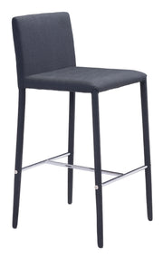 Confidence Counter Height Barstool - Black