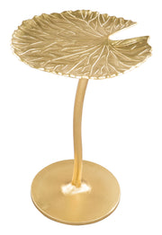 Lily Side Table Gold