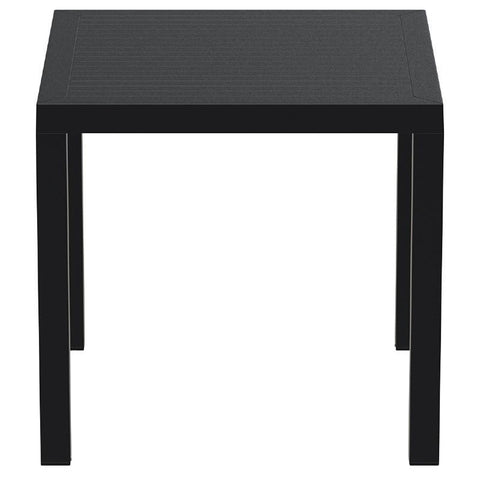 Compamia Ares Resin Square Dining Table Black 31 inch ISP164-BLA - RestaurantFurniturePlus + Chairs, Tables and Outdoor - 2