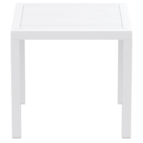 Compamia Ares Resin Square Dining Table White 31 inch ISP164-WHI - RestaurantFurniturePlus + Chairs, Tables and Outdoor - 2