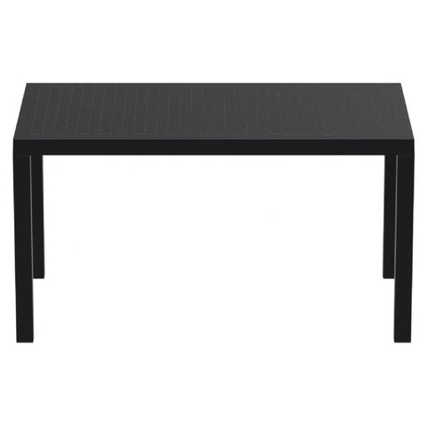 Compamia Ares Resin Rectangle Dining Table Black 55 inch ISP186-BLA - RestaurantFurniturePlus + Chairs, Tables and Outdoor - 2