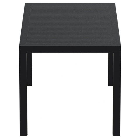 Compamia Ares Resin Rectangle Dining Table Black 55 inch ISP186-BLA - RestaurantFurniturePlus + Chairs, Tables and Outdoor - 3