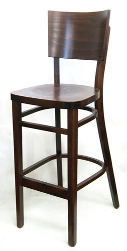 European Beechwood Bar Stool