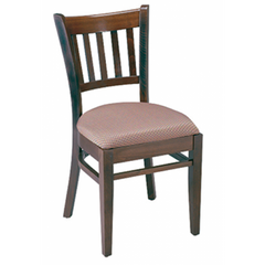 Vertical Solid Wood Dining Chair