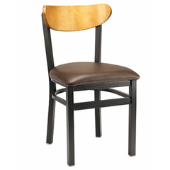 Santos Black Metal Dining Chair
