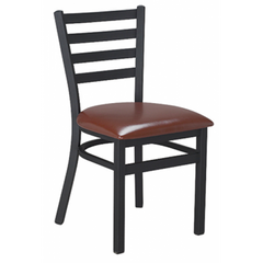 Dante Black Metal Dining Chair
