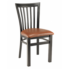 Wyndham Black Metal Dining Chair