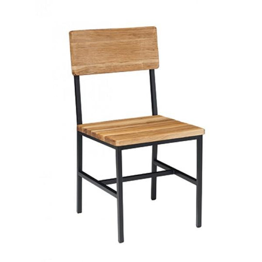 Toledo Black Metal Dining Chair