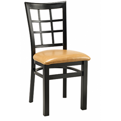 Windsor Black Metal Chair