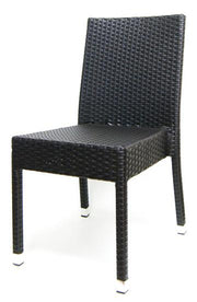 Outdoor Synthetic Wicker Side Chair