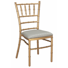 Chiavari Gold Metal Dining Chair