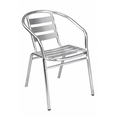 Newport Outdoor Aluminum Chair