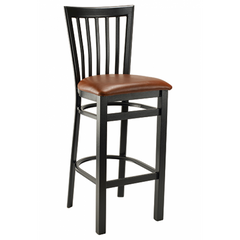 Wyndham Black Metal Bar Stool