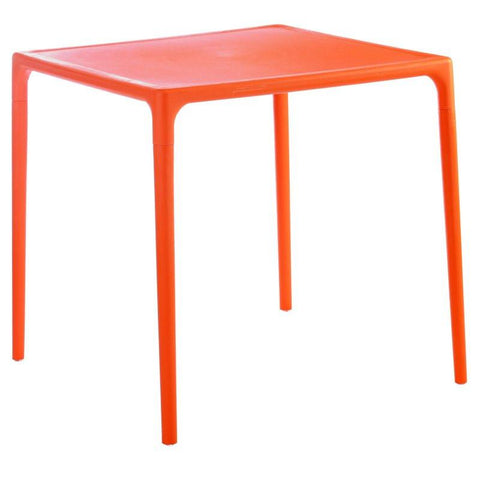 Compamia Mango Square Dining Table Orange 28 inch ISP800-ORA - RestaurantFurniturePlus + Chairs, Tables and Outdoor  - 1