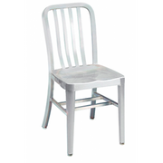Brushed Aluminum Classic Outdoor Chair