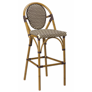 Marina Outdoor Aluminum Bar Stool