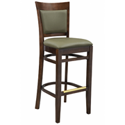 Mirage Solid Wood Bar Stool