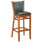 Bristol Solid Wood Bar Stool