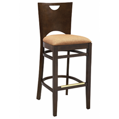 Chloe Solid Wood Bar Stool