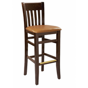 Napa Solid Wood Bar Stool