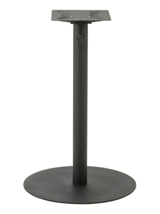 Stainless Steel 316 Pole / Zinc-Coated Bar Height Round Base