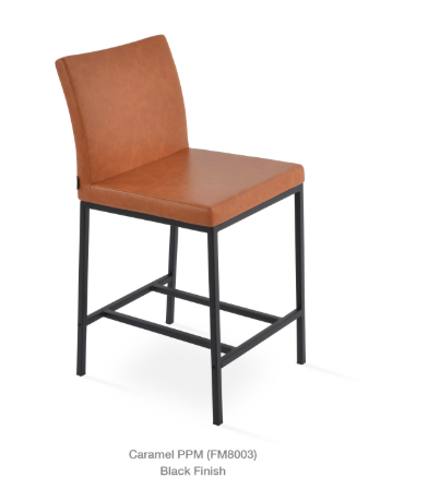 Soho Concept Aria Chrome Bar Stools - YourBarStoolStore + Chairs, Tables and Outdoor - 1