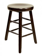 European Beech Wood Backless Counter Stool