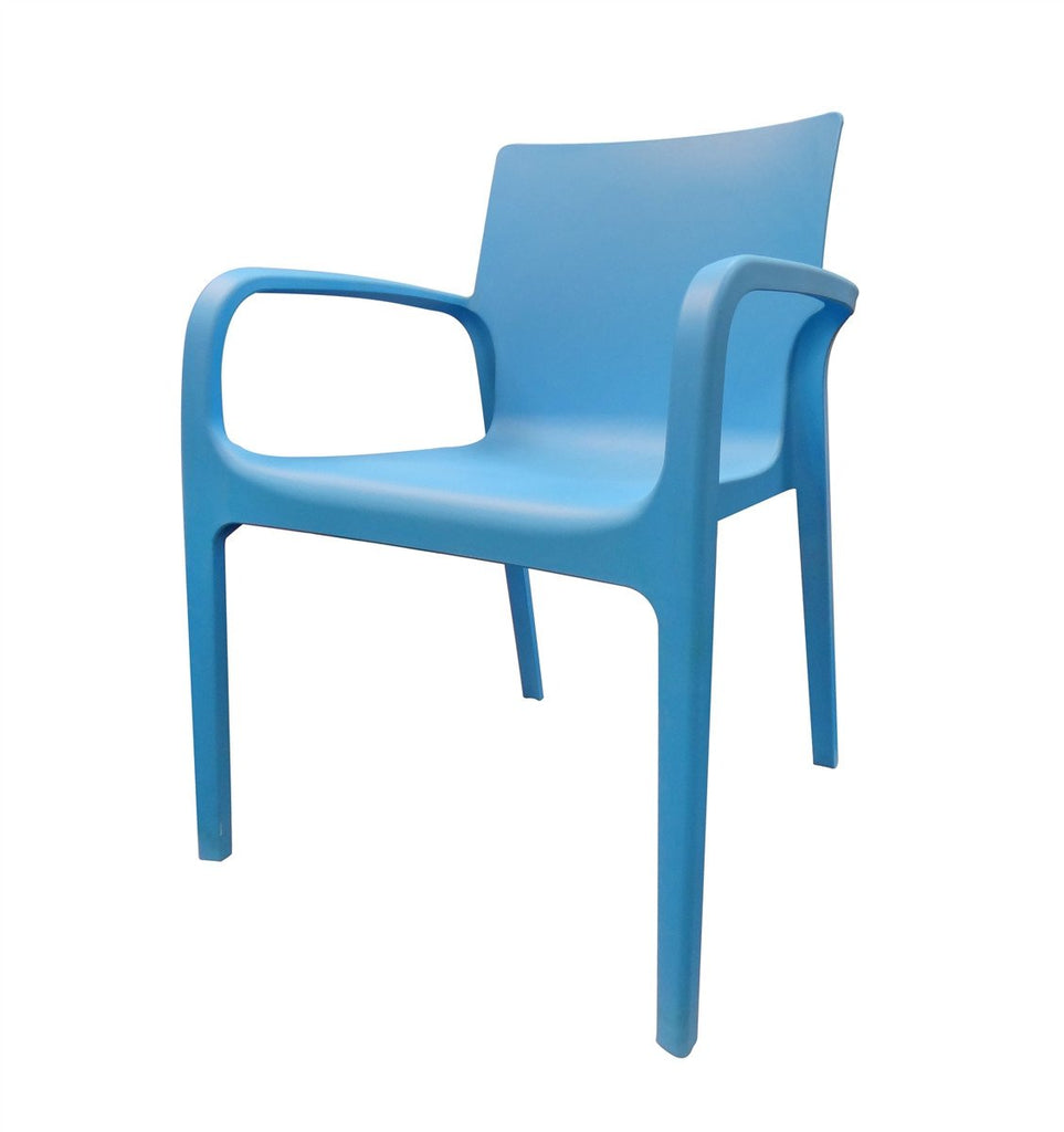 ALISSA Modern Designed Chair - Blue