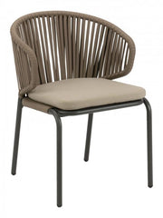 Powder Coated Aluminium Side Chair