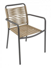 Cortina Outdoor Armchair with Aluminum Frame