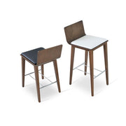Soho Concept Corona Wood Bar Stools With Dallas Seat - YourBarStoolStore + Chairs, Tables and Outdoor - 12