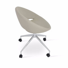 Soho Concept Crescent Spider With Caster - YourBarStoolStore + Chairs, Tables and Outdoor - 1