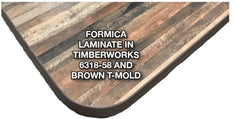 T-Mold Edge Laminate Tabletops