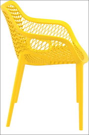 Compamia Air XL Outdoor Dining Arm Chair Yellow ISP007-YEL - RestaurantFurniturePlus + Chairs, Tables and Outdoor - 5