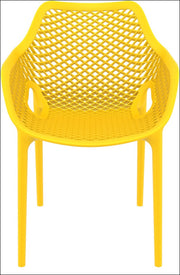 Compamia Air XL Outdoor Dining Arm Chair Yellow ISP007-YEL - RestaurantFurniturePlus + Chairs, Tables and Outdoor - 3