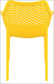 Compamia Air XL Outdoor Dining Arm Chair Yellow ISP007-YEL - RestaurantFurniturePlus + Chairs, Tables and Outdoor - 4